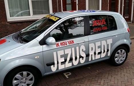 Jezus_redt_autosticker